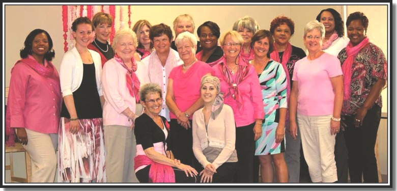 Pink Survivors Book Signing Group Photo